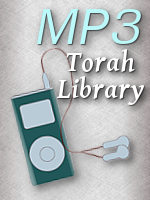 MP3s of Commuters Chavrusa 1-12 and Parsha Perceptions 1-5